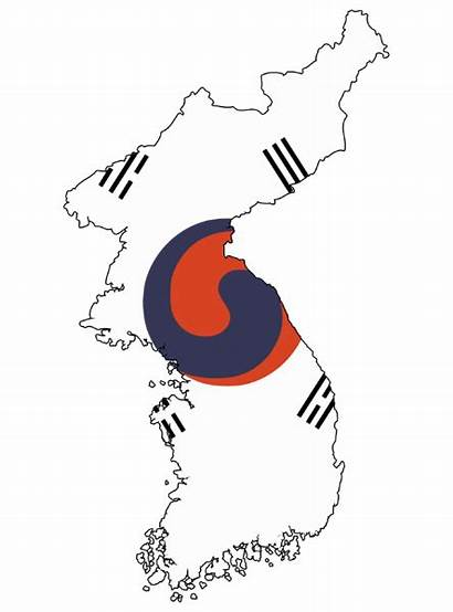 Korea Flag Korean Map Empire 1910 1900
