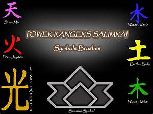 power rangers samurai symbols | Party Ideas | Pinterest