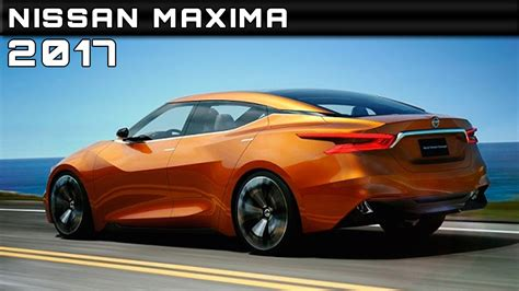 2017 Nissan Maxima Review Rendered Price Specs Release