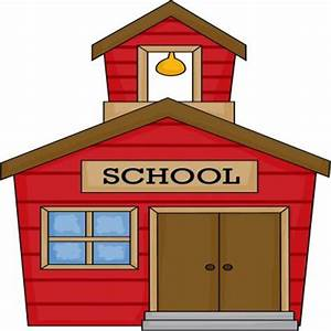 clipart of school house - Clipground