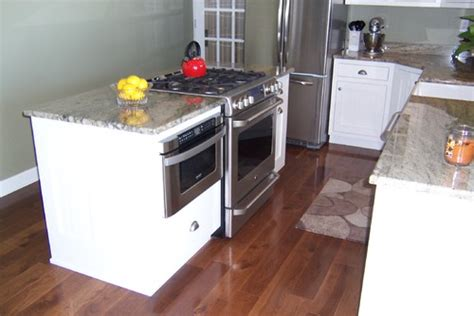 kitchen island with slide in stove slide in range and kitchen sink 9453