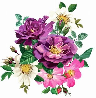 Transparent Bouquet Flower Clipart Rose Floral Flowers