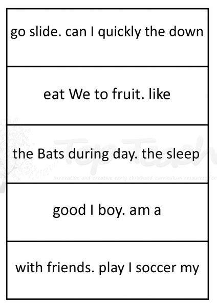 HD wallpapers writing sentences for kindergarten worksheets