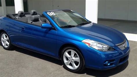 Toyota Solara Convertible For Sale used 2008 toyota solara convertible for sale in ta bay