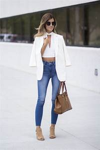How To Style Your Blazer And Jeans ? Tips For Girls - Just ...
