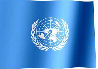 United Nations Flag Waving Un Flags Nation