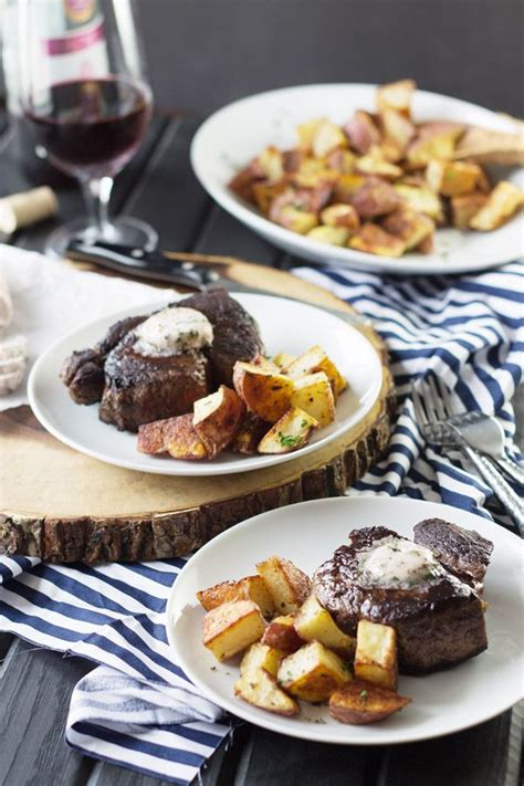Helpful tips when cooking steak. Filet Mignon with Red Wine Compound Butter -this is a ...