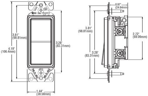 Single Pole Decorator Wall Switch Cooper Wiring
