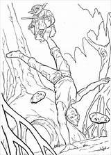 Coloring Pages Wars Star Printable Mace Windu Card sketch template