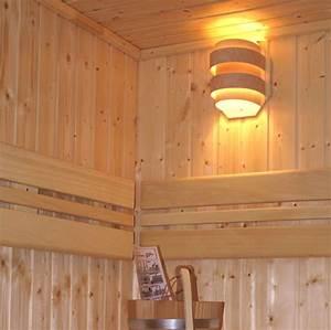 Massivholz Sauna Selbstbau : kleiner sauna lampenschirm wand saunaleuchte 81740 ~ Whattoseeinmadrid.com Haus und Dekorationen