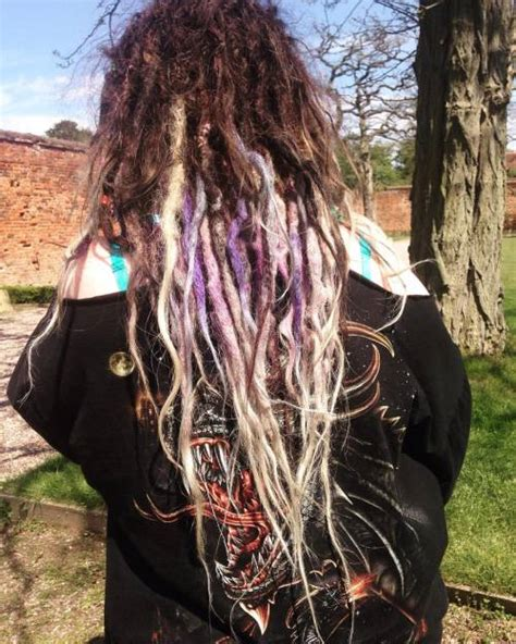 dyed dreads  tumblr