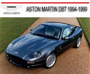 Aston Martin Db7 1994-1999 Repair Service Manual