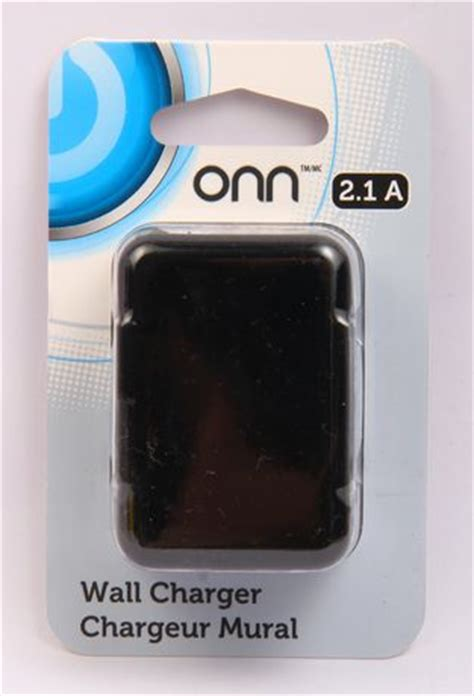onn iphone charger onn 2 1 a wall charger black walmart ca