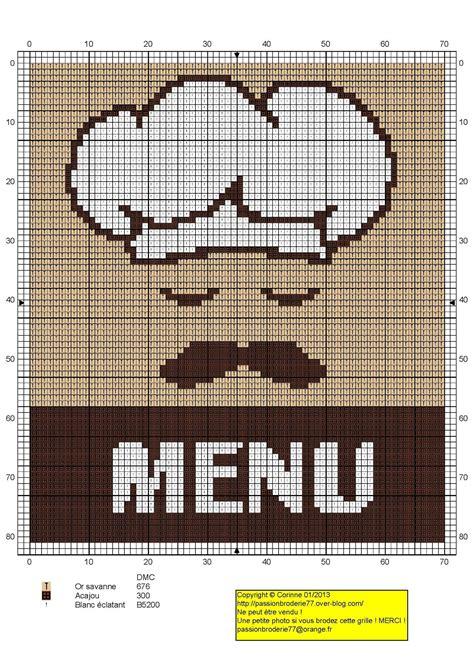point de croix cuisine cuisine kitchen menu chef point de croix cross