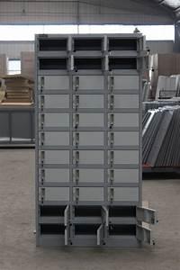 Rangement Métallique Industriel : rangement meuble industriel bureau vintage metal etabli cuisine pour tiroir coulissant bloc ~ Teatrodelosmanantiales.com Idées de Décoration