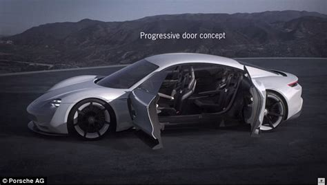 porsche tesla price porsche unveils its tesla killer mission e with