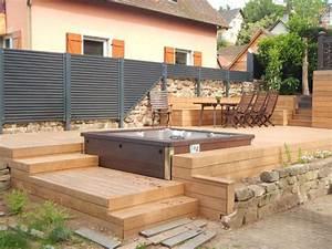 Bois Pour Terrasse Piscine : jeux d 39 escalier ext rieur pinterest terrasse bois ~ Zukunftsfamilie.com Idées de Décoration