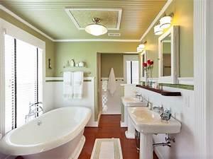 Master Bathroom From Blog Cabin 2011 DIY Network Blog