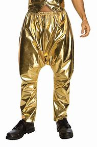 MC Hammer Gold Pants
