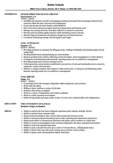 fuel resume samples velvet jobs