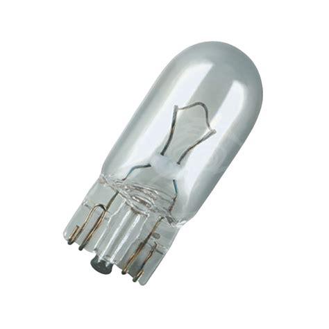 Car Bulb 501 Number Plate Sidelight 12v 5w (10 X Bulbs)