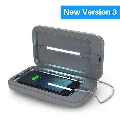 Phone Soap 3 UV Cell Phone Sanitizer and Dual Universal