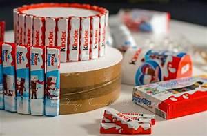 Duplo Torte Basteln : diy torte aus kinder schokolade diy inspirationen kreatives essen baby kind und meer ~ Frokenaadalensverden.com Haus und Dekorationen