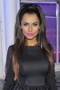 Natalia Siwiec - high ponytail & fuchsia lips...x | Beauty ...