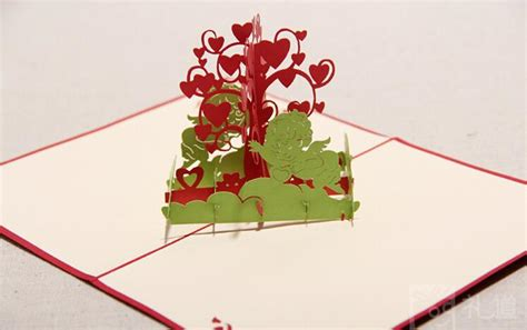 Wishing Tree 3D Pop UP Gift & Greeting 3D Cards Handmade