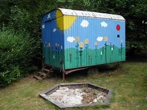 Spielhaus Für Den Garten : bauwagen gartenhaus spielhaus ger teschuppen aufbau 3 ~ Articles-book.com Haus und Dekorationen