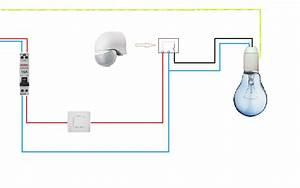 Branchement Detecteur De Mouvement : schemas electrique ~ Dailycaller-alerts.com Idées de Décoration
