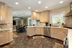 43 quotnew and spaciousquot light wood custom kitchen designs With light and dark colors for kitchen cabinets colors