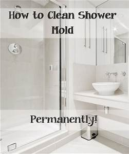 The best way to clean shower mold permanently for How to clean fungus in bathroom