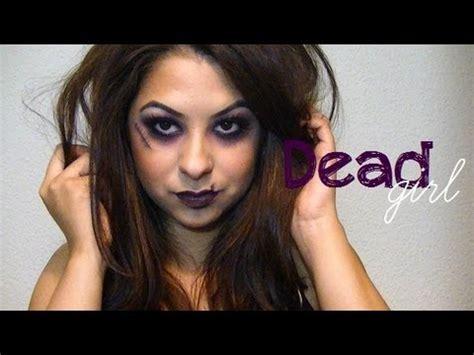 halloween makeup dead girl youtube