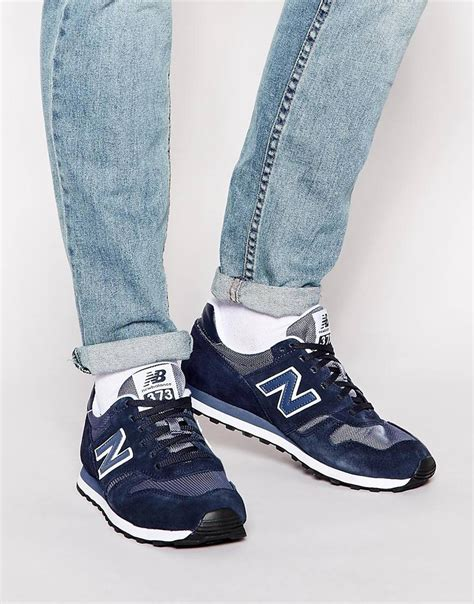 New Balance 373 Trainers In Blue For Men  Lyst