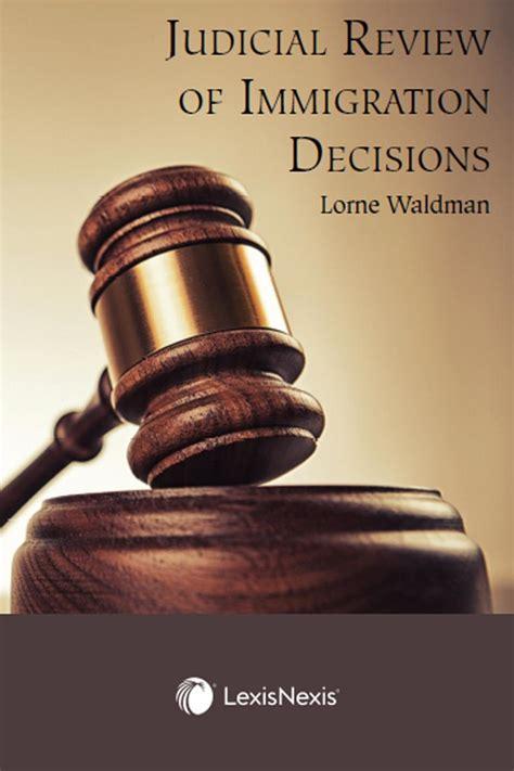 Judicial Review of Immigration Decisions   LexisNexis ...