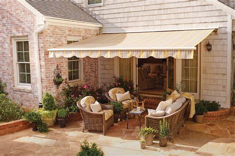 sunbrella retractable awning residential shade fabrics sunbrella fabrics