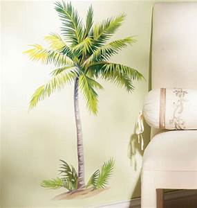 Breezy Palm Tree Wall Decals