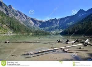 Avalanche Lake Glacier National Park Montana