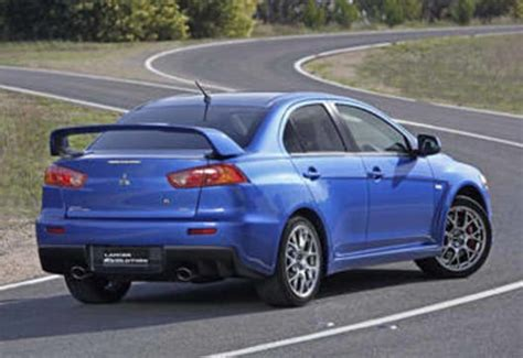 Mitsubishi Lancer Evo 2008 by Mitsubishi Lancer Evolution 2008 Review Carsguide