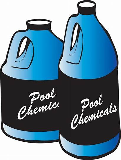 Pool Clipart Swimming Chlorine Chemical Chemicals Water