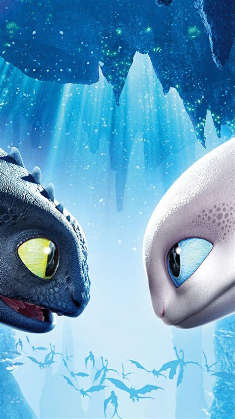 dragon train hidden toothless light wallpapers 8k fury poster night iphone vertical movies 4k desktop animation mobile 3d