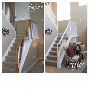 How to Update a Banister – for Less than $50! – Marlowe Lane