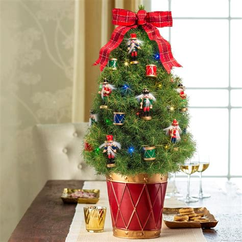 decorated tabletop christmas trees delivered www