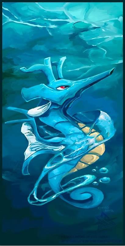Pokemon Dragon Kingdra Water Type Fan Anime