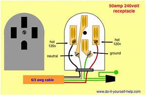 40 Amp 240 Volt Receptacle Diagram