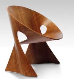 mobius wood chair design unique and contemporary best