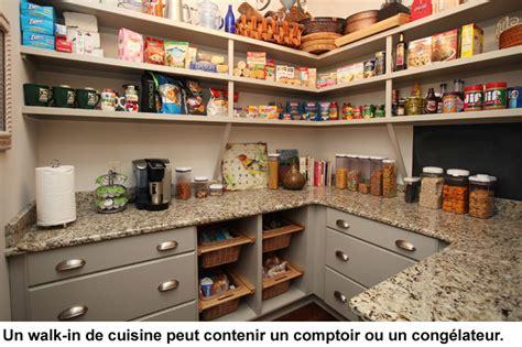 papier pour cuisine walk in et rangement efficaces pour la cuisine