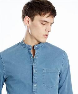 Chemise Sans Col Homme : chemise col mao c 39 est uniquement ce mod le qui me fait r ver ~ Louise-bijoux.com Idées de Décoration