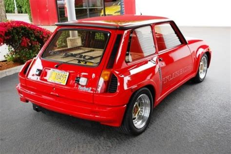 Renault 5 Turbo For Sale Usa by Renault 5 Turbo For Sale Katy Perry Buzz